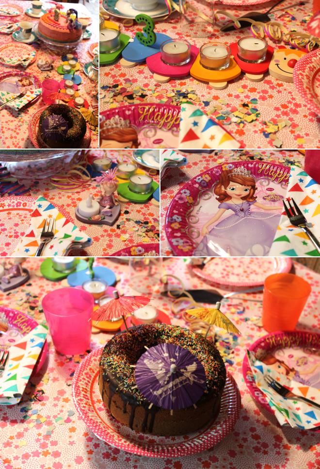 Kunterbunter Pony Kuchen Und Luftballons All Over Chriskizzmysun