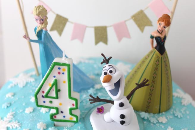 Geburtstagstorte Mit Elsa Anna Und Olaf Chriskizzmysun
