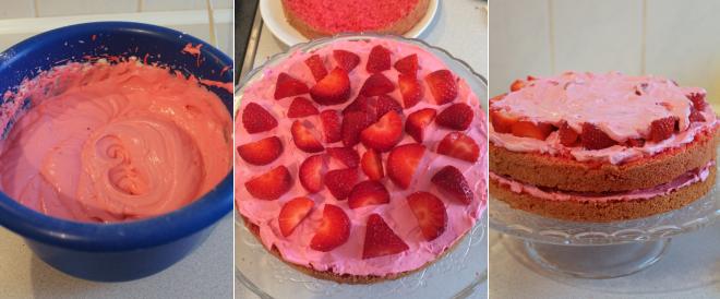 Erdbeer Mascarpone Torte Chriskizzmysun